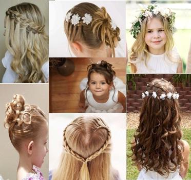 4 Peinados De Boda Para Ninas Faciles De Seguir Fotos Peinados - Peinas-para-bodas
