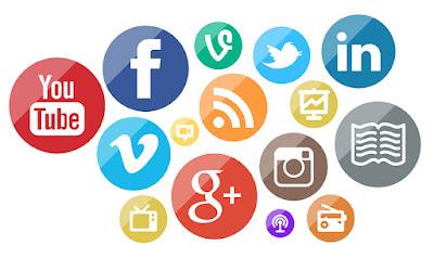 Menyebar konten dengan banyak platform