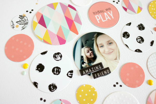Girls just wanna have fun | Scrapbooking Layout
