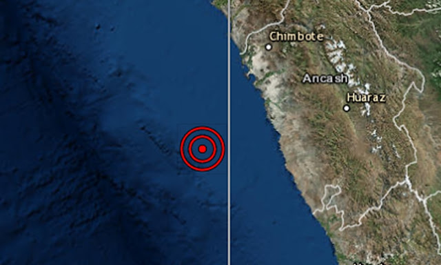 Ancash, sismo de magnitud 5.7