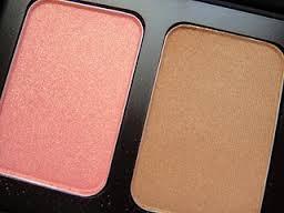 maquiagem para noivas contorno e luz pele blush bronzer nars