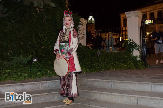 Macedonian national costume - Ethnic area villages under Suva Gora