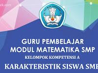 Download Modul Guru Pembelajar Matematika SMP