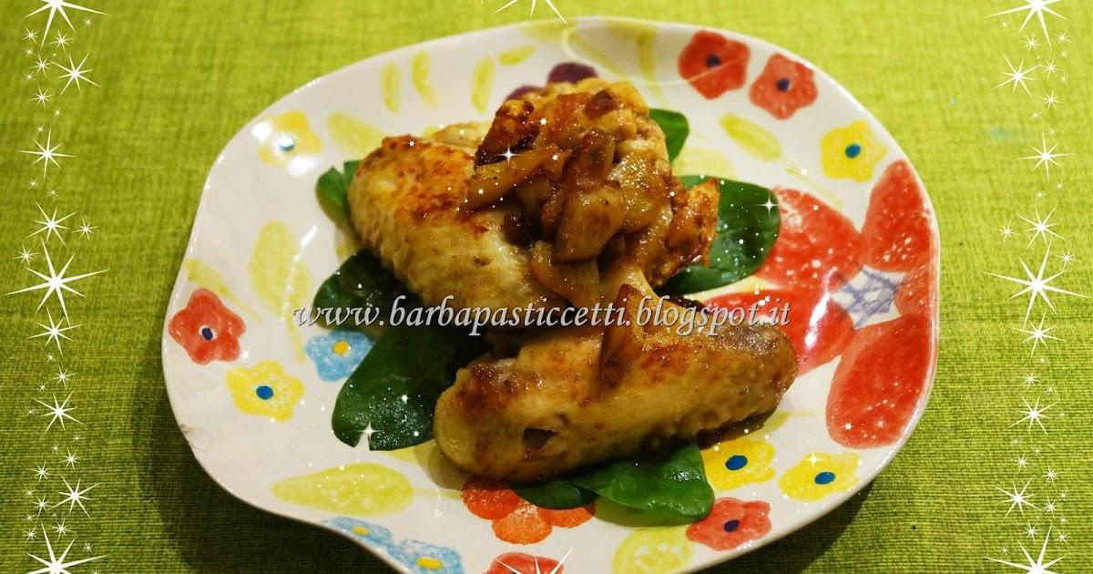 Alette di pollo speziate e contorno di patate, cottura in padella!