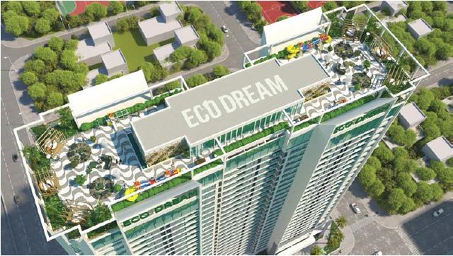 Tầng mái Eco Dream
