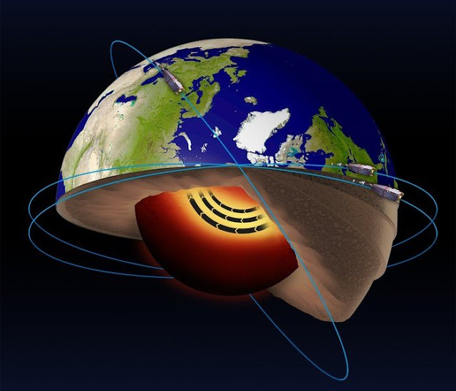 Molten 'Jet Stream' Discovered Deep Inside Earth