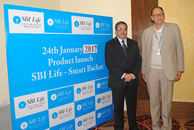 Mr. Anand Pejawar, Executive Director, SBI Life Insurance during SBI Life - Smart Bachat' Plan launch