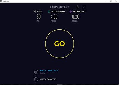 تحميل برنامج  اختبار سرعة الإنترنت الكمبيوتر والأندرويد Speedtest مجانا