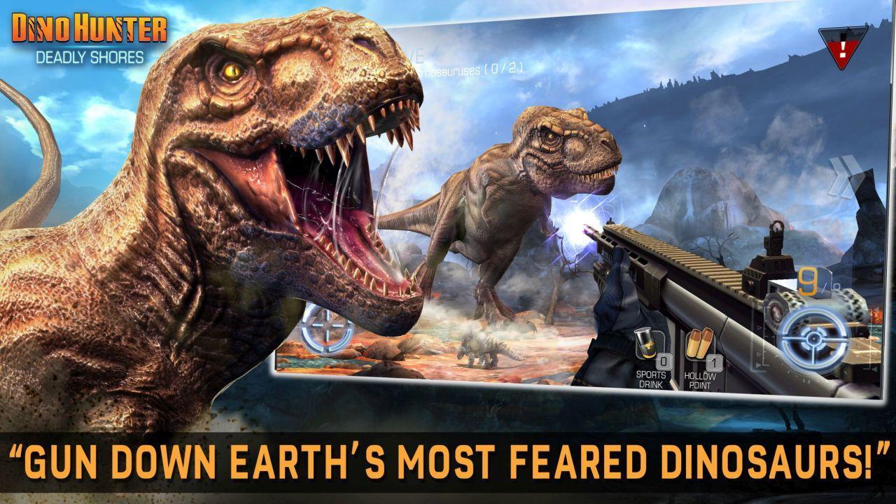 تحميل لعبة صيد الديناصورات Dino screen-1.jpg
