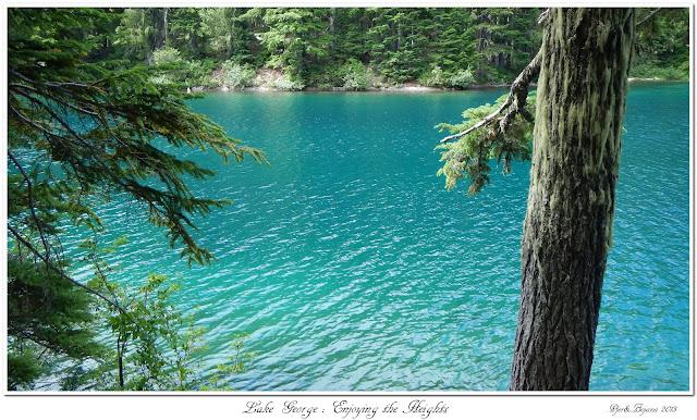 Lake George: Enjoying the Heights