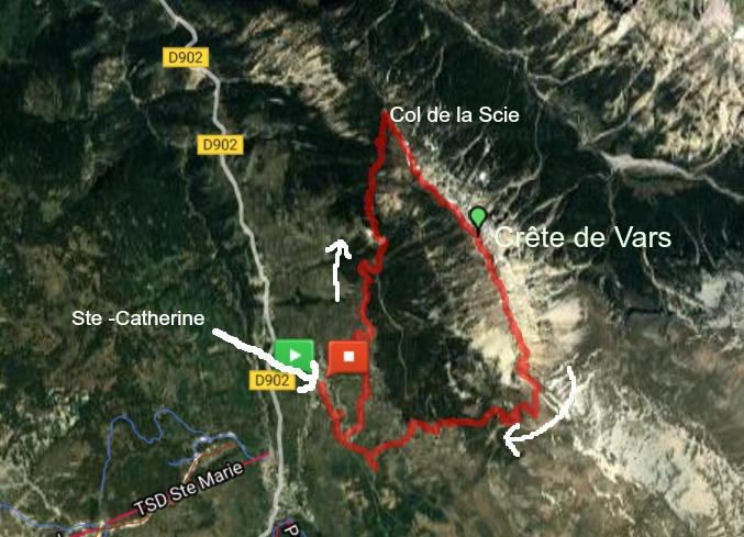 Crête de Vars trail