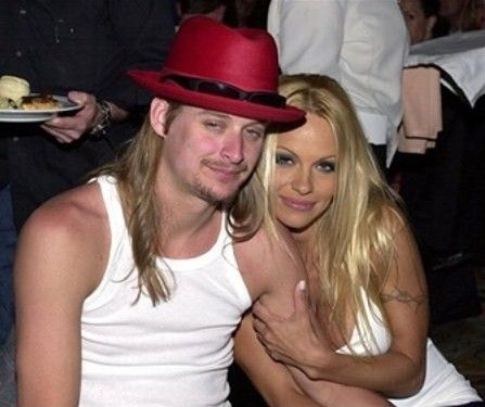 Ugly Kid Rock with sex symbol Pamela Anderson