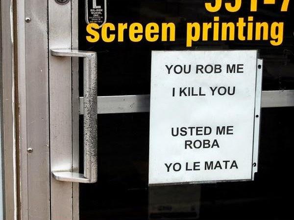 Los errores de los traductores automáticos