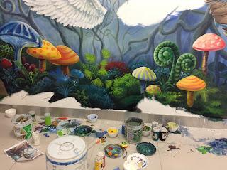 Dạy Vẽ tranh tường 3D Bình Dương