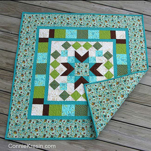 Who's Who Quilt Free Tutorial Designed By Connie Kresin Campbell of Freemotion by the River