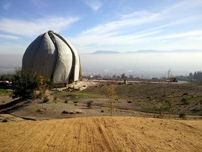 Храм бахаи в Сантьяго, Чили