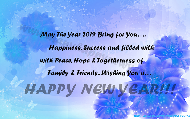 happy new year 2k18 msg