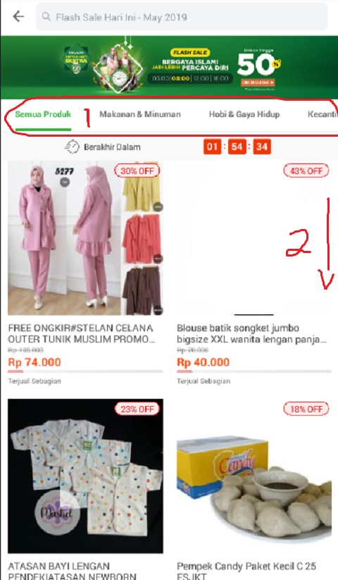 Promo Ramadhan Flash Sale di Tokopedia