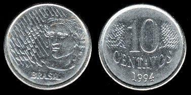 Brazil 10 Centavos (1994-1997)