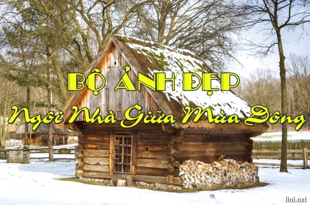 1102+ Ảnh Ngôi Nhà Giữa Mùa Đông Tuyết Trắng Cực Kì Đẹp
