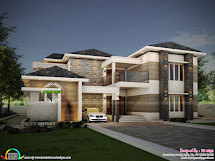 Modern House Plans & Elevations