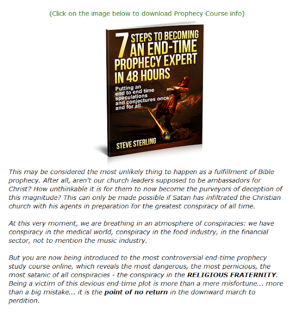 Last Chance To Click Here For The End Times Prophecy Course