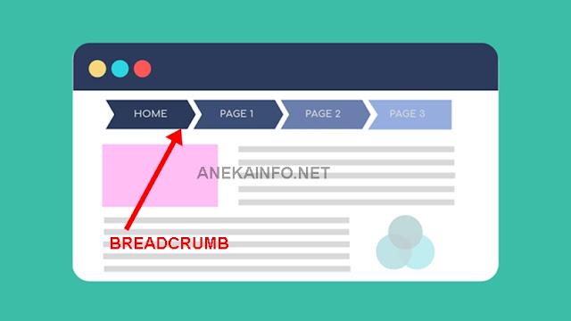 Cara Memperbaiki Breadcrumb Blogspot