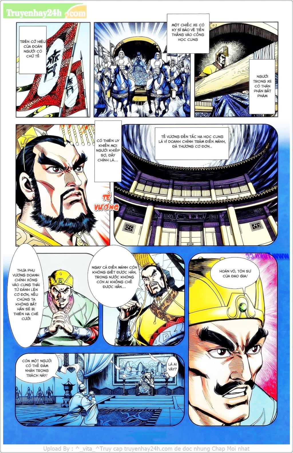 Tần Vương Doanh Chính chapter 23 trang 7