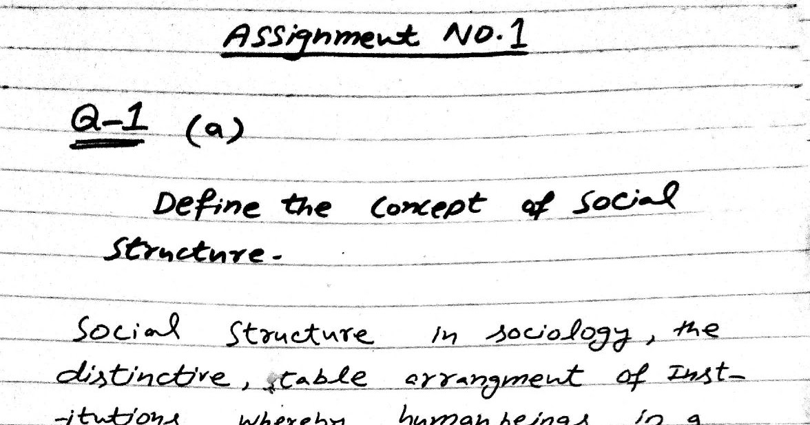 AIOU B.ed Assignment (Code 8606) Citizenship Education and
