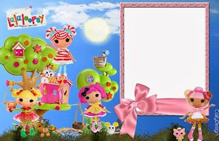 Lalaloopsy Free Printable Invitations, Labels or Cards.