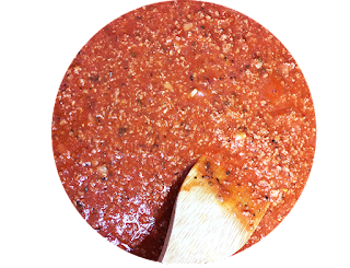 marinara sauce on food and lifestyle blog