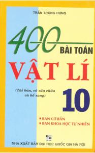 400 Bài Tập Vật Lý 10