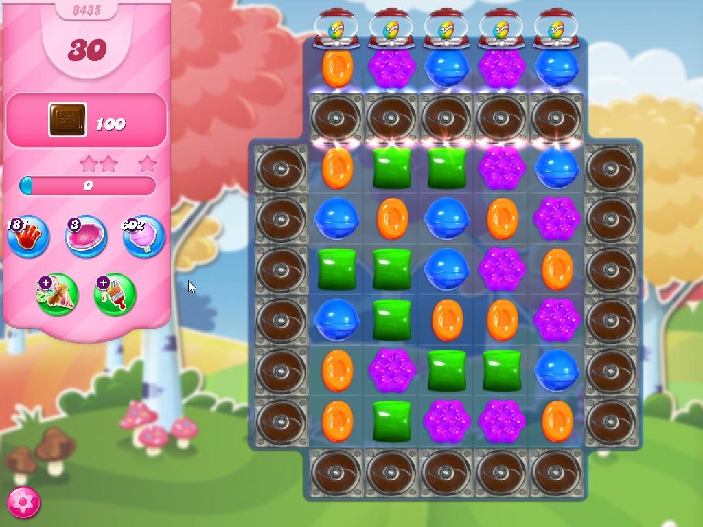 Candy Crush Saga level 3435