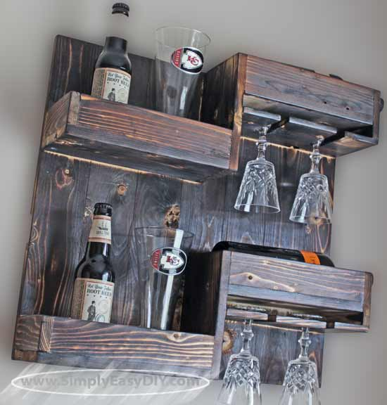 DIY Wine and Beer Rack