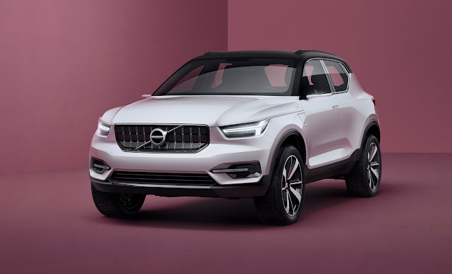 Volvo 40.1 concept, front view