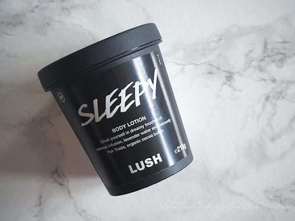 Lush Sleepy Body Lotion.