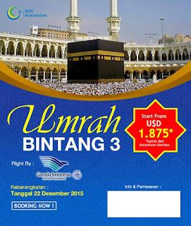 Paket Umroh Reguler By Garuda Indonesia