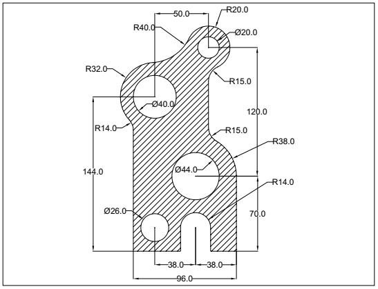 AutoCAD : 2D Exercise 2 | My CAD Portfolio