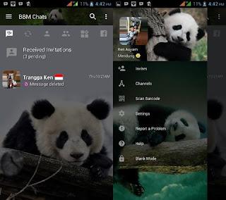 BBM Mod Panda V3.2.5.12 Apk