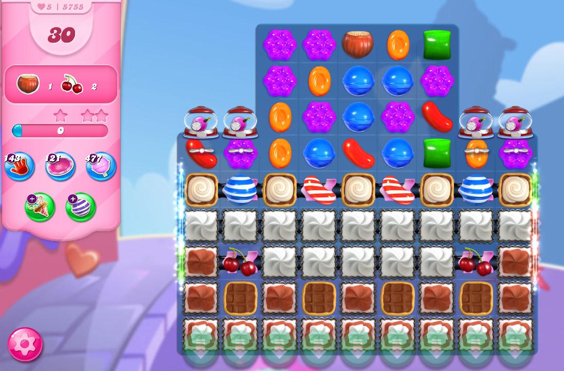 Candy Crush Saga level 5755
