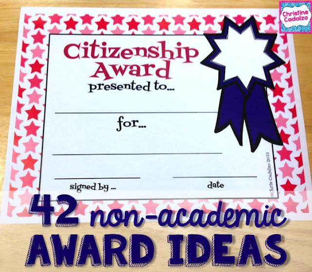 Classroom Award Ideas Elementary ~ Teach think elementary end of the year award ideas that