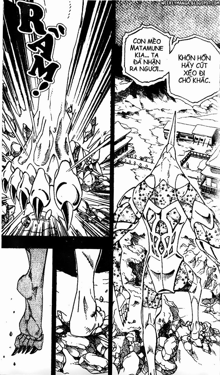 Shaman King [Vua pháp thuật] chap 166 trang 15