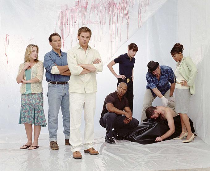 Reparto de Dexter, la serie de Showtime