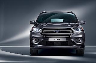 2017 Ford Kuga front profile image