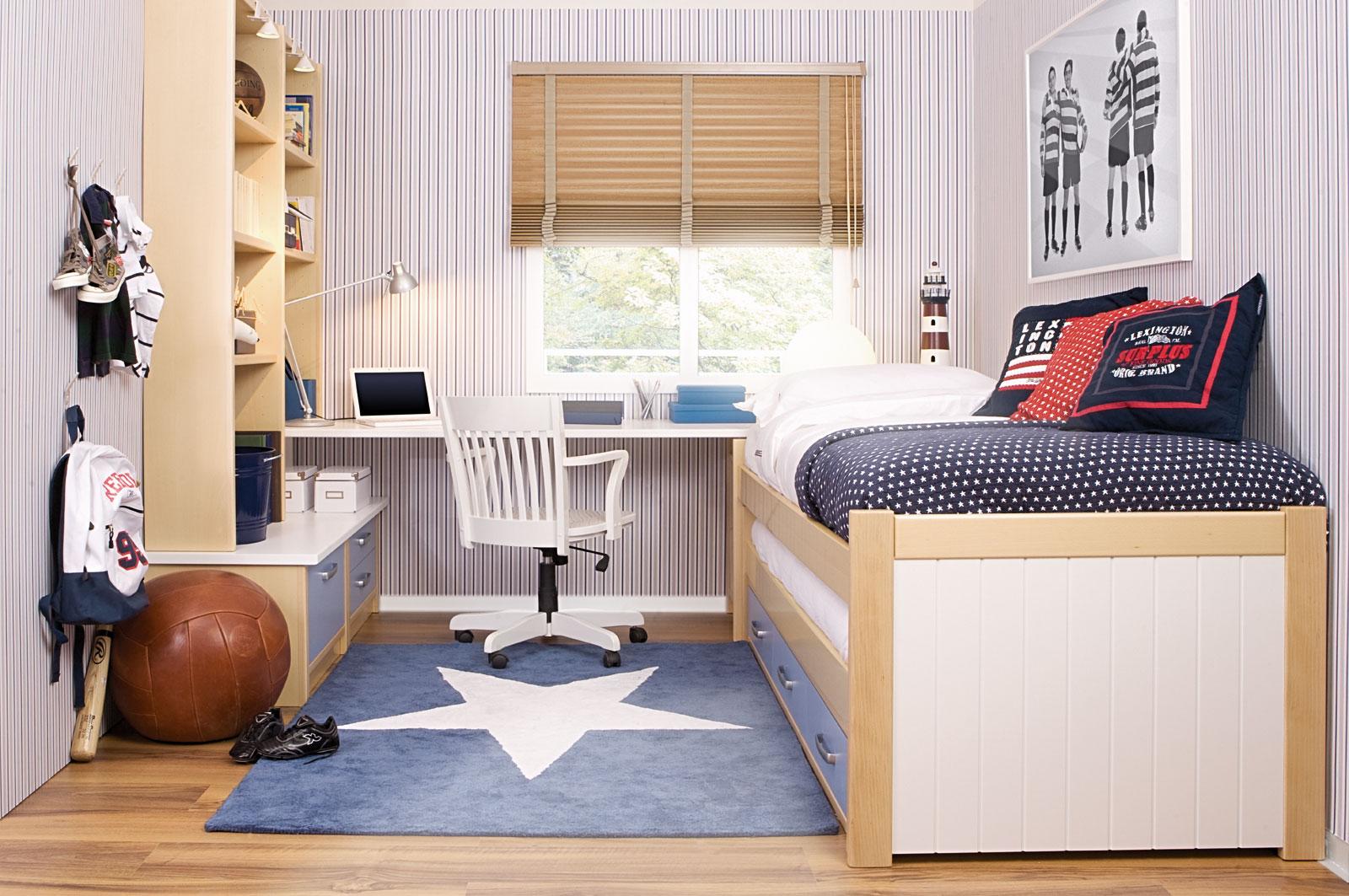 10 dormitorios juveniles modernos ideas para decorar - Como amueblar un dormitorio pequeno ...