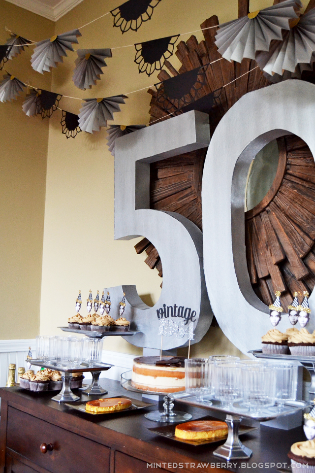 DIY 50th Birthday Party Decorating Ideas