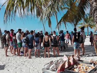 Excursión a Isla Saona, vuelta al mundo, round the world, mundoporlibre.com