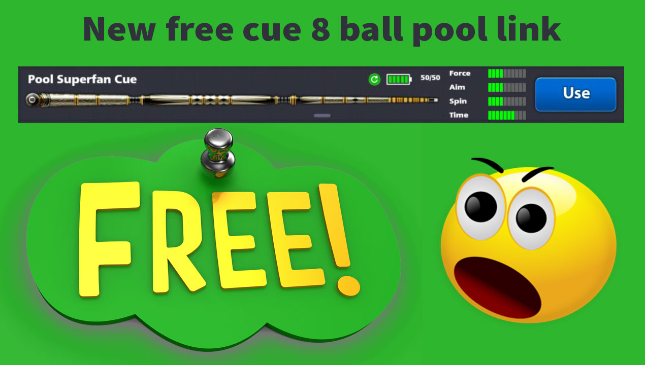 New free cue 8 ball pool link - pro 8 ball pool