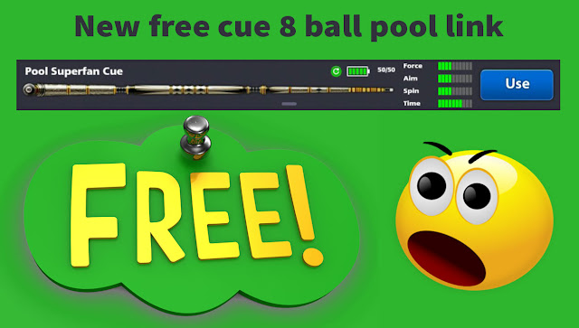 New free cue 8 ball pool link