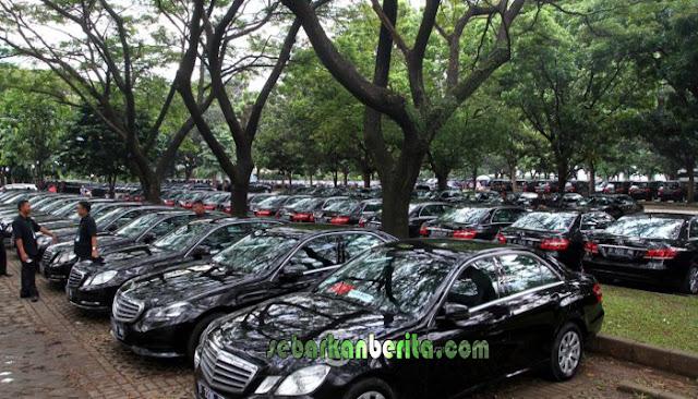 Ratusan Mobil Mewah Siap Angkut Rombongan Raja Salman, Sopirnya Dilatih Paspampres